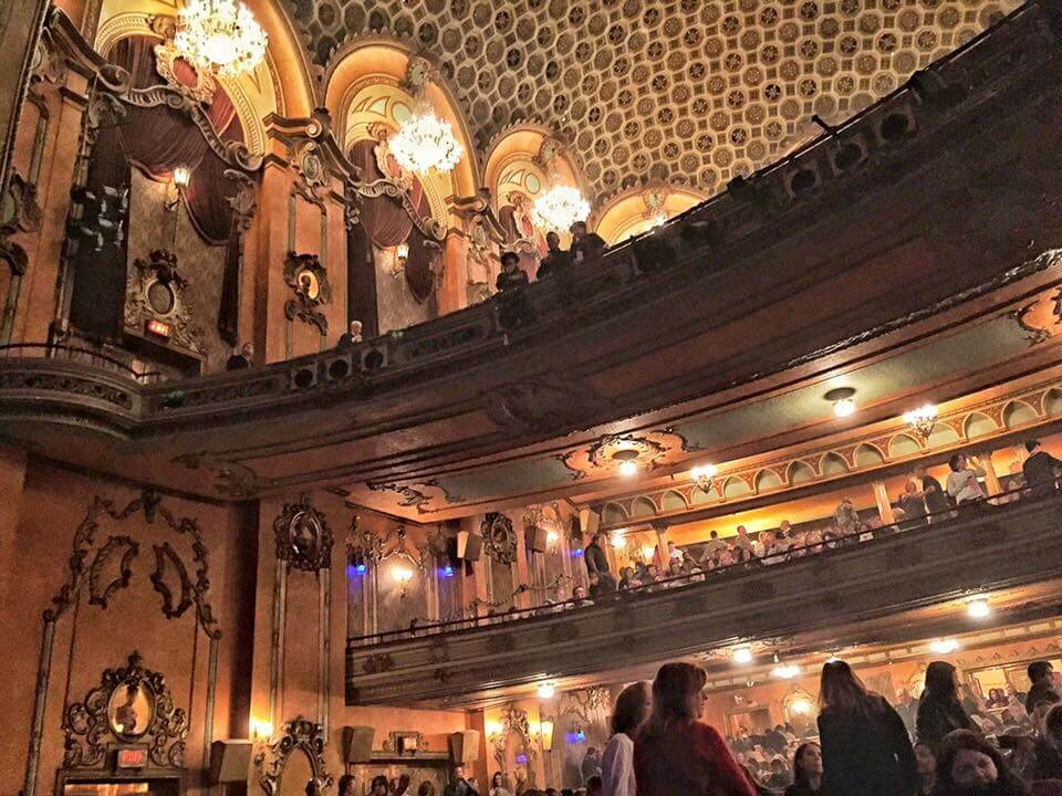 the interior of an ornate theatre