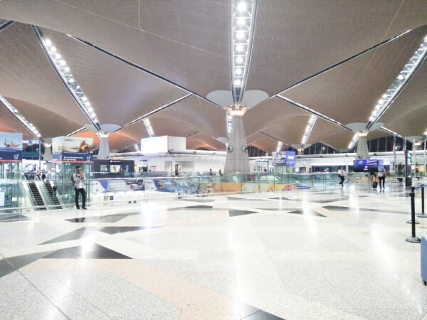 inside of an airport