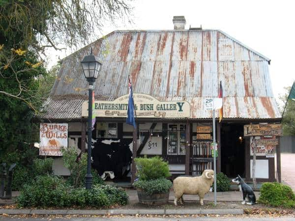 historic building in hahndorf