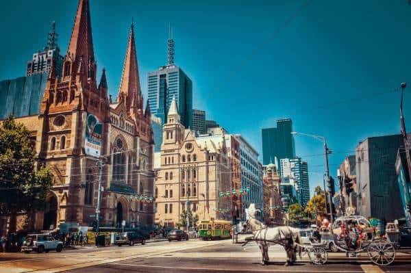 city centre with old buildings one of the best things to do in melbourne