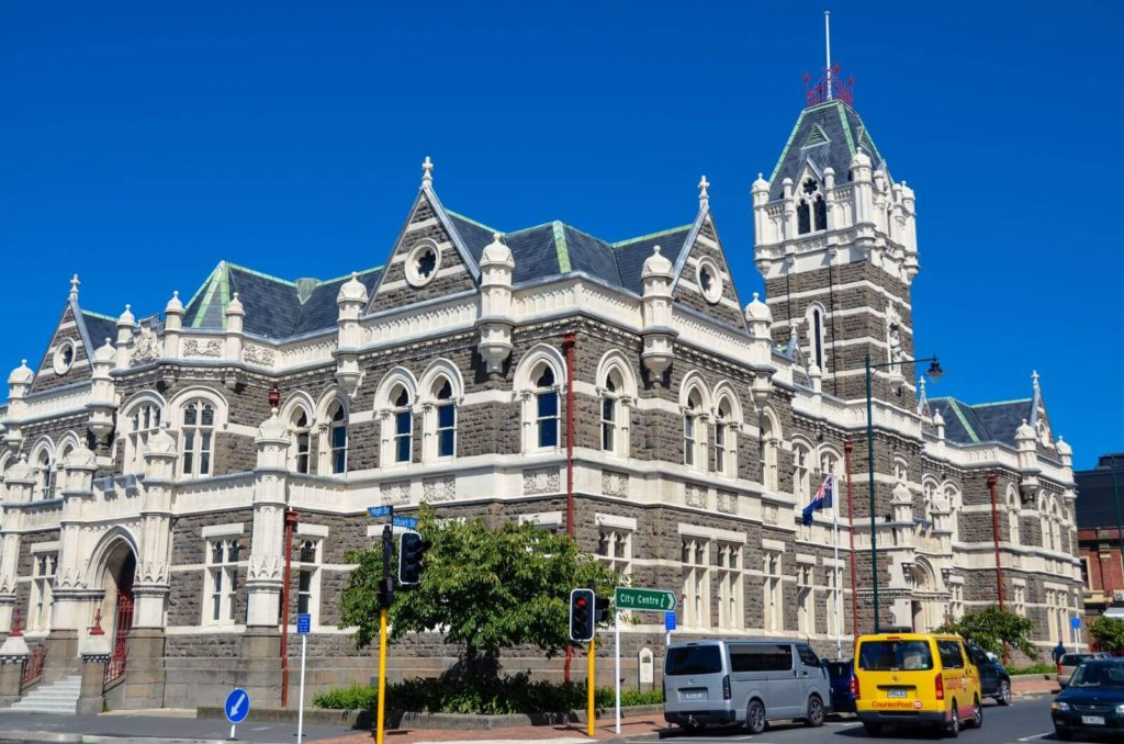 victorian gothic law court building